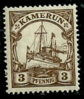Kamerun 1900 - Scott 7 (MH) Unwmk. - Ships - Kolonie: Kamerun