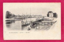 44 LOIRE-ATLANTIQUE LE POULIGUEN, Le Port, Bateaux, Précurseur,  (N.D. Phot) - Le Pouliguen
