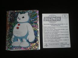 96 Images - DIGIMON - Sans Double - (ou à L´unité : 25 Cents) - Stickers