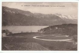 *a* - ANNECY - Route De La Grande Jeanne - Le Lc Et La Tournette - édit. A. Gardet, N° 14 - Annecy