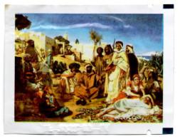 Serviette Rafraîchissante Refresching Towel Orientalist Painting Erfrischungstuch Refrescante Toalla Salvietta - Modern (from 1961)