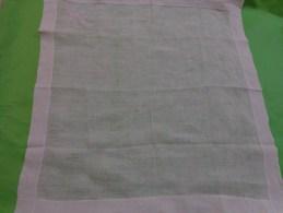 Mouchoir De Bal A Restaurer Monogramme L - Handkerchiefs