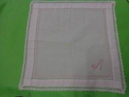 Mouchoir MONOGRAMME LEONIE - Handkerchiefs