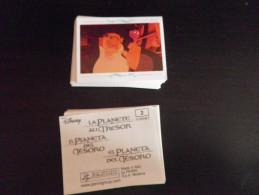 71 Images - LA PLANETE AU TRESOR PANINI DISNEY 2002 - Sans Double - (ou à L´unité : 25 Cents) - Stickers