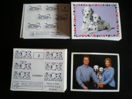 30 Images - LES 102 DALMACIENS 2001 PANINI - Sans Double - (ou à L´unité : 25 Cents) - Adesivi