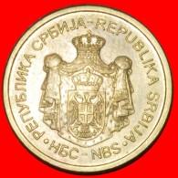 § NEW CROWN: SERBIA ★ 1 DINAR 2013! LOW START ★ NO RESERVE! - Serbie
