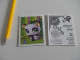 14 Images - LITTLEST  PETSHOP – CARNET DE VOYAGE PANINI 2010 - Sans Double - (ou à L´unité : 25 Cents) - Stickers