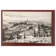 Arcidosso  Panorama Con La Neve E Veduta Del Tennis  Stazione Climatica  100717  Edin Anselmi - Italie
