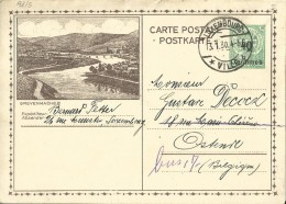 Carte Correspondance - Entier - Stationery - No. 98.5 Grevenmacher - Luxembourg à Ostende 1930 - Stamped Stationery