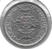 *Angola 2,5 Escudos 1967 Km 77   Xf+ - Angola