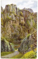 Cheddar Cliffs By A R Quinton - J Salmon 1589 Unused - Quinton, AR
