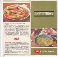 B1642 - Brochure RICETTARIO LIEBIG - RICETTE CUCINA Anni '60 - Altri