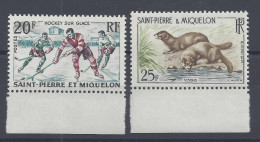 SPM - 1959 -  N° 360/361 - NEUF - XX - MNH - TTB - - St.Pedro Y Miquelon
