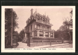 CPA Houlgate, Villa St-Rémy, Pension De Familie - Houlgate