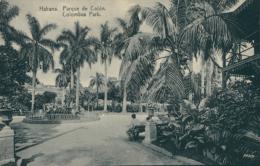CU LA HAVANE / Parque De Colon / - Cuba