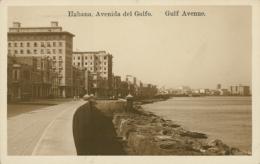 CU LA HAVANE / Avenida Del Golfo / - Cuba