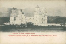 GT GUATEMALA CITY / Cathédrale Lézardée Par Les Tremblements Du 23 Avril 1903 / - Guatemala
