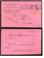 Croix-Rouge De Belgique - Le Colis Du Prisonnier - Date: 1941. - Documents