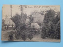 Grot Van O.L.V. Van LOURDES Rozenkrans ( Thill ) Anno 1926 ( Zie Foto Details ) !! - Edegem