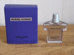 MINIATURE DE PARFUM RYKIEL HOMME DE SONIA RYKIEL EAU DE TOILETTE 7,5ML - Miniatures Modernes (à Partir De 1961)