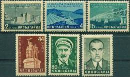 BULGARIA \ BULGARIE - 1955 - Amitie Bulgaro-sovietique - 6v** - 1945-59 République Populaire