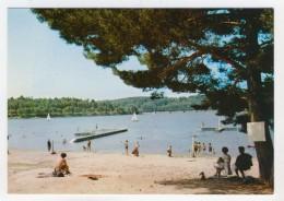 19 - Marcillac-la-Croisille           La Plage Et Le Lac - Autres Communes