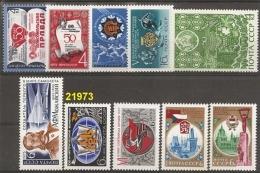 1975 - YT 4114/15-16/17-18-19/24-25-26-27-28-29 **  - VC: 7.90 Eur. - 1923-1991 USSR