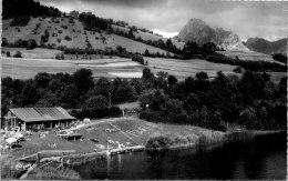 74 SAINT PAUL SUR EVIAN - La Beunaz - La Baignade Et La Dent D'oche - Frankreich