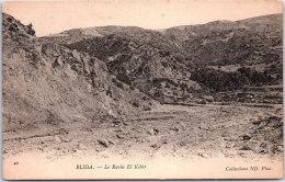 ALGERIE - BLIDA - Le Ravin El Kébir - Blida