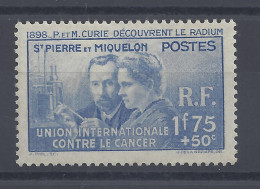 SPM - 1938 -  N° 166 - NEUF - X - B/TB - - St.Pierre & Miquelon
