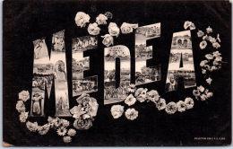 ALGERIE - MEDEA - Carte Souvenir - Medea