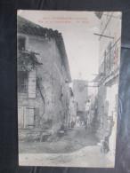 Cpa 84 Richerenches Rue De La Commanderie Le Beffroi - France