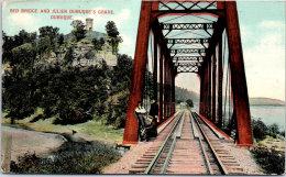 USA - IOWA - Red Bridge And Julien Dubuque's Grave Dubuque - Etats-Unis