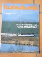 Vie Du Rail N°1694  1979  Paris Mulhouse  Réseau CFTA Nivernais - Trains