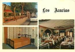 """/ CPSM FRANCE 30 """"Le Grau Du Roi, Hôtel Restaurant Les Acacias"""" - Le Grau-du-Roi"""