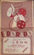 PROGRAMME De L'ELDORADO Du 20 Au 26 Avril 1949 - Bon Etat - - Programmes