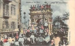 06 - Nice - Carnaval De Nice, Char Des Midinettes(colorisée) - Carnaval
