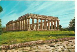 Paestum (Salerno, Campania) Tempio Di Hera - La Cosiddetta Basilica, Hera's Temple, Hera Tempel - Salerno