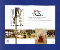 Portugal  2012  Mi.Nr. Sheet 326 (3698) , 175 Anos Da Escola Do Exercito - Postfrisch / MNH / (**) - Nuevos