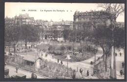 PARIS  3 E - Le Square Du Temple - Arrondissement: 03