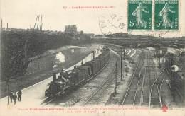 """/ CPA FRANCE 75012 """"Paris, Vue De Conflans Charenton"""" / LES LOCOMOTIVES - District 12"""
