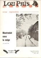 Lozère Lou Païs Revue Régionaliste N°223 24 ème Année Novembre 1976 Le Château De Le Baume - Turismo E Regioni