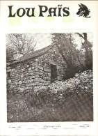 Lozère Lou Païs Revue Régionaliste N°222 24 ème Année Octobre 1976 - Tourism & Regions