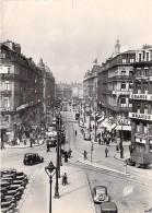 59  - LILLE : Rue Faidherbe ( Animation Commerces Tramway Autos ) Jolie CPSM Dentelée Noir Blanc GF Postée 1956 - Nord - Lille