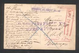 25 - Montbéliard - Inconnu Au Dépot - Le Destinataire N'a Pu être Atteint...Inconnu 42 SHR - Marcophilie (Lettres)