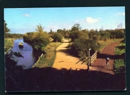 ENGLAND  -  Milton Keynes  The Redway  Used Postcard As Scans - Buckinghamshire