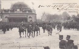 Evènements - Réception Souverains Italie Paris  - Gare Bois De Boulogne - Militaria - Réceptions