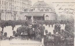 Evènements - Réception Souverains Italie Paris  - Militaria - Troupes - Garde Républicaine - Réceptions