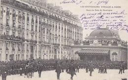 Evènements - Réception Souverains Italie Paris  - Militaria - Troupes - Gare Bois De Boulogne - Réceptions
