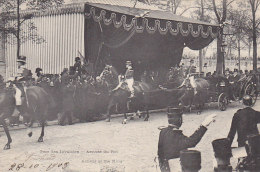 Evènements - Réception King Edward VII Paris  - Attelage - Photographe - Gare Des Invalides - Réceptions